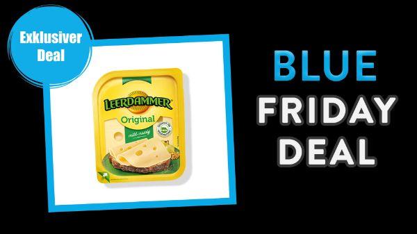 Blue Friday: Leerdammer Käse