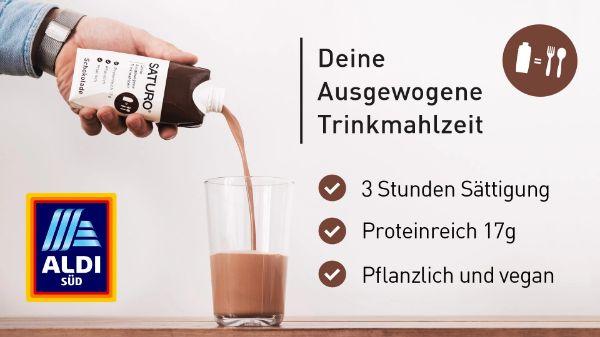 SATURO Trinkmahlzeit to go – Proteinreich
