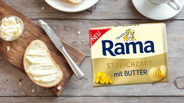 Rama Streichzart mit Butter