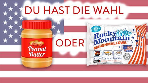 Erdnussbutter vs. Marshmallows