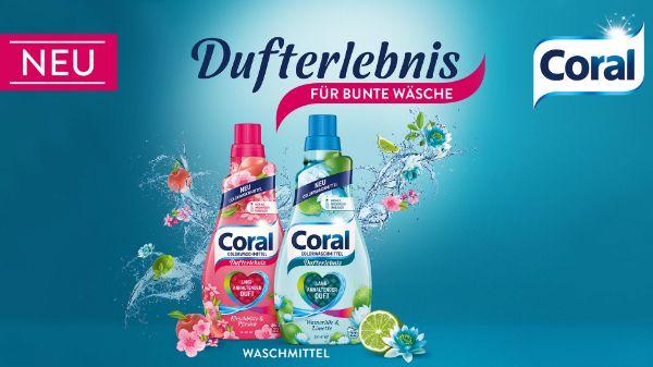 Coral Dufterlebnis Colorwaschmittel