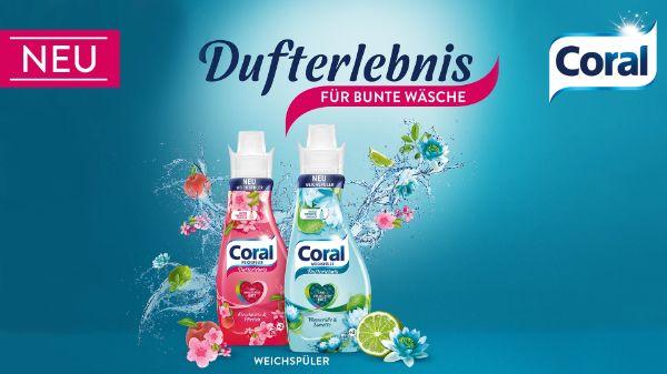 Coral Dufterlebnis Weichspüler