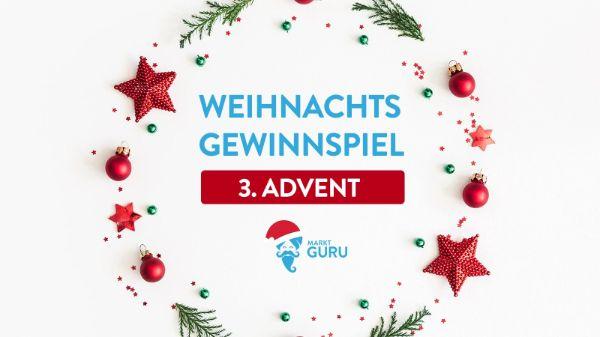 marktguru Gewinnspiel 3. Advent