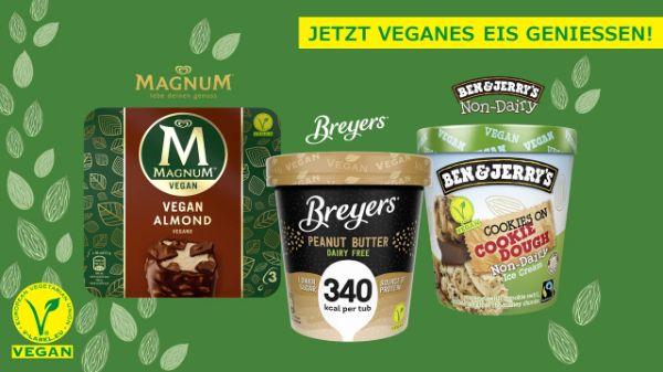 Vegane Eis Varianten