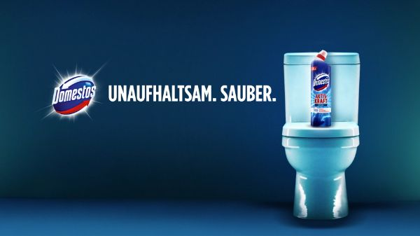 Domestos WC Reiniger