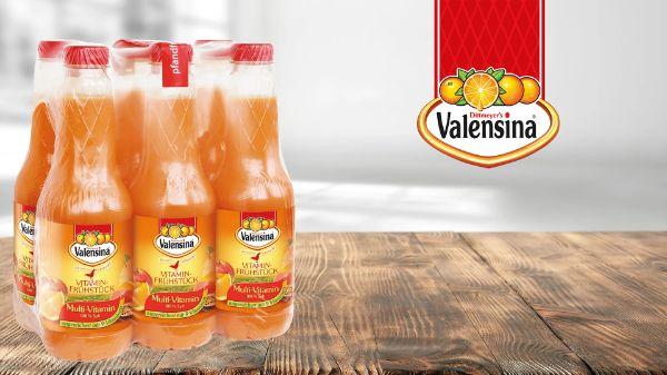 Valensina Frühstückssäfte