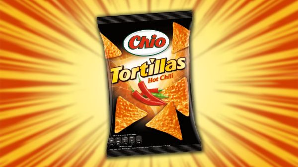 Chio Tortillas Hot Chilli