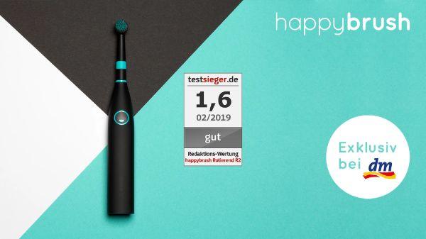 happybrush - Elektrische Zahnbürste Rotierend R2