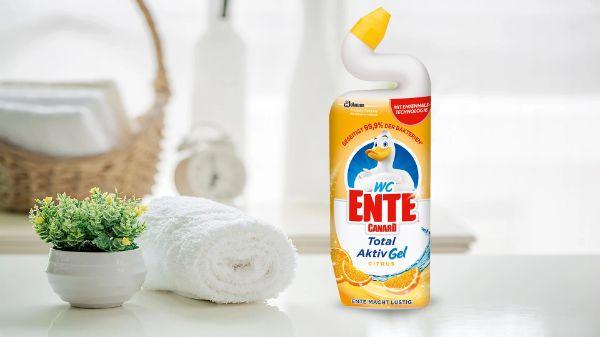 WC-Ente Reiniger Gel