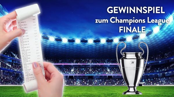 Gewinnspiel zum Champions League Finale