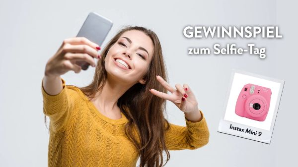 Gewinnspiel zum Selfie Tag
