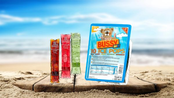 Bussy Mixed Iced Pops