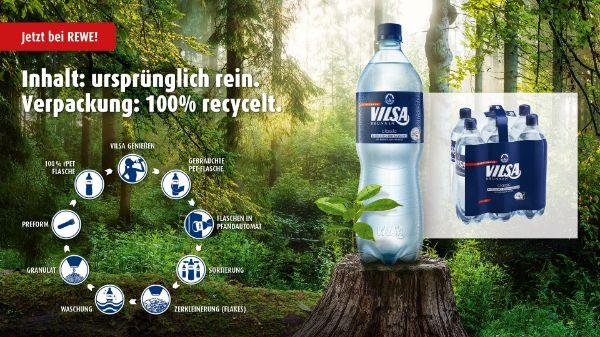 VILSA Mineralwasser bei REWE