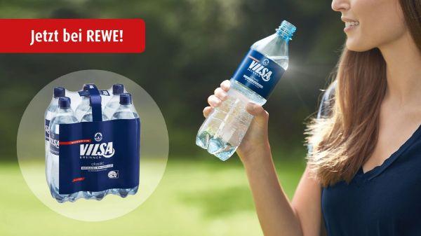 VILSA Mineralwasser Einzelflaschen bei REWE