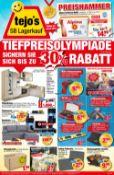 tejo's SB Lagerkauf Prospekt