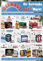 Obenaus Getränke Prospekt