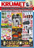 KRÜMET Sonderposten-Märkte Prospekt