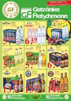 Getränke Fleischmann Prospekt