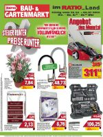 RATIO Bau- & Gartenmarkt Prospekt