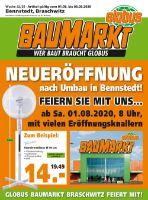Globus Baumarkt Prospekt