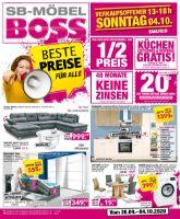 SB-Möbel BOSS Prospekt