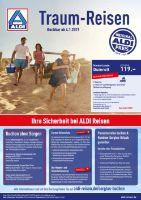 ALDI Nord Reisen Prospekt