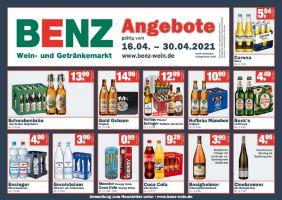 Benz Wein- und Getränkemärkte Prospekt