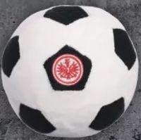 Plüschball Schwarz/Weiss von Eintracht Frankfurt