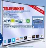 3D-Curved-Ultra-HD-LED-TV C55U320N4CW-3D von Telefunken