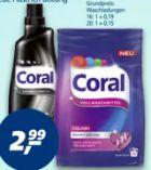 Vollwaschmittel von Coral
