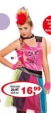 Teenie-Kleid Punkgirl