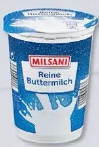 Reine Buttermilch von Milsani