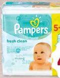 Fresh Clean Feuchttücher von Pampers