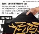 Back- und Grillmatten-Set von Gourmetmaxx