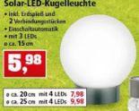 LED-Solar-Kugelleuchte