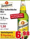 Das tschechische Bier von Zlatopramen