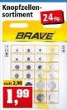 Knopfzellensortiment von Brave