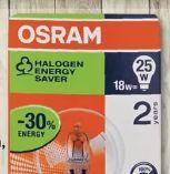 Halogen Glühlampenform von Osram