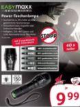 Power-Taschenlampe von easy! MAXX