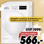 Wärmepumpentrockner WTW85463 von Bosch