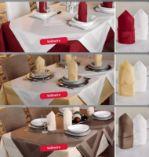 Profi Qualität Damast-Tischdecken von Gözze