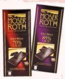 Zartbitter von Moser Roth