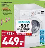 Waschmaschine WM 14 E 290 von Siemens