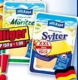 XXL Käsescheiben von Milram