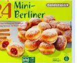 24 Mini-Berliner von Goldstein