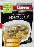 Lebernockerl von Leimer