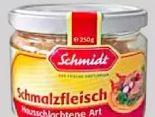 Wurstglas von Schmidt Feinkost