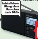 Digitalradio XDR-S41D von Sony