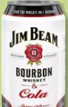 Bourbon Whiskey & Cola von Jim Beam