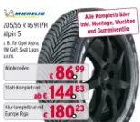 Winterreifen Alpin 5 von Michelin